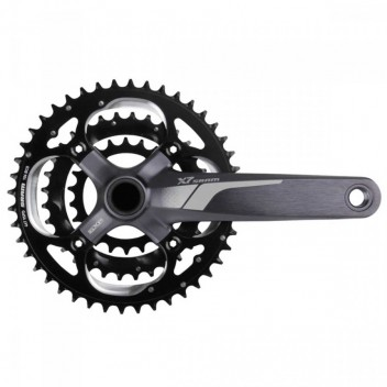 Система SRAM X7 GXP 3.3 9sp 175mm Storm Grey 44-32-22t (00.6118.227.004)