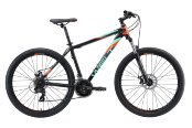 Велосипед Welt Ridge 1.0 D 27 2020 Matt Black/Orange/Green